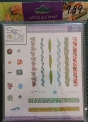 See D's-Corners and Borders Stamp Set