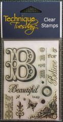 Technique Tuesday-Beautiful Day Stamp Set