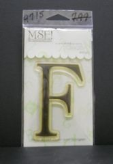 MSE-Classic Upper Monogram Stamp Letter F