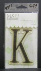 MSE-Classic Upper Monogram Stamp Letter K