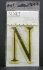 MSE-Classic Upper Monogram Stamp Letter N
