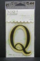 MSE-Classic Upper Monogram Stamp Letter Q