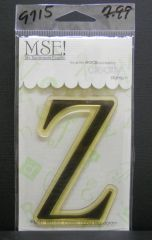 MSE-Classic Upper Monogram Stamp Letter Z