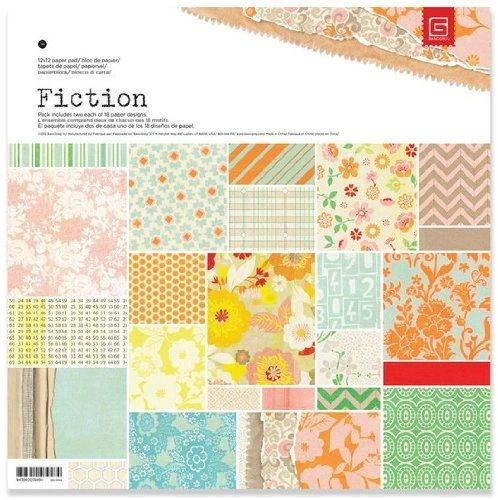 BasicGrey Fiction Collection Scrapbook Paper Pad