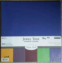 ANW Crestwood Jewel Tone Value Pack Cardstock