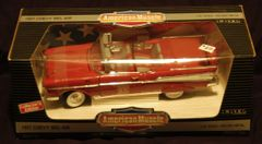 "1957 Chevy Bel Air ERTL American Muscle 1/18"" Scale Die Cast Metal Collector Car"