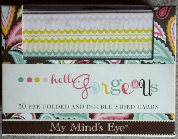 My Mind's Eye Hello Gorgeous 50 Double-sided Cards