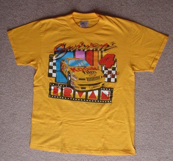 Ernie Irvan 1993 Kodak Nascar T-Shirt