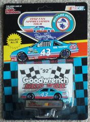 1992 RICHARD PETTY #43 -FAN APPRECIATION TOUR GOODWRENCH 500 TRACK CAR