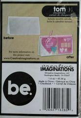 Creative Imaginations Checkbook Cover