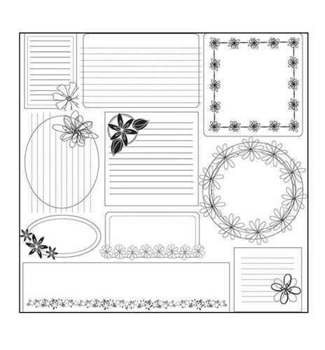 LUXE - TO DIE FOR JOTTERS - FLORAL I - LUXE DESIGNS