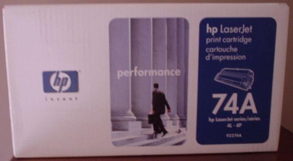 HP LaserJet 74A Print Cartridge