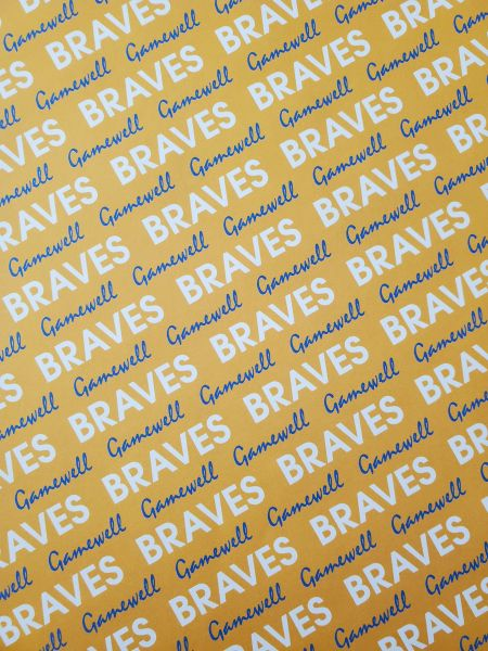 Gamewell School Braves Paper