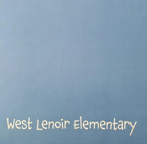 West Lenoir Elementary School Paper