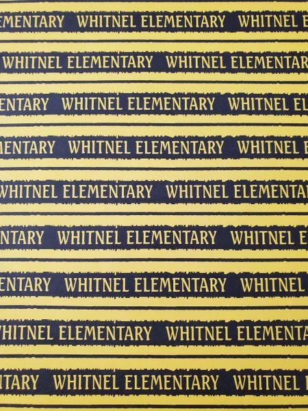 Whitnel Elementary School Paper