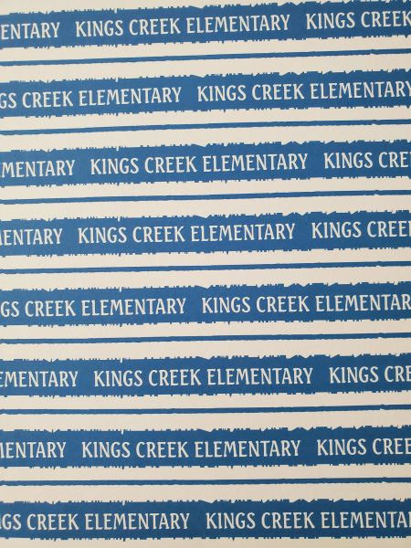 Kings Creek Elementary School Paper