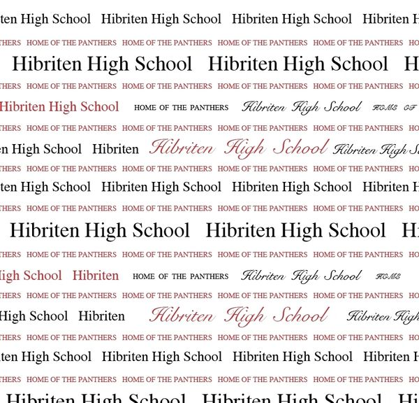 Hibriten High School Panthers Paper