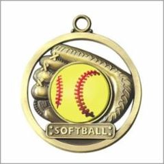 SOFTBALL - GAME BALL MEDALLION
