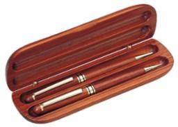 Rosewood Double Pen set