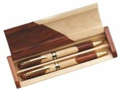 Dual Wood Pen Set