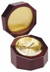 Rosewood Octagon Clock - Q128