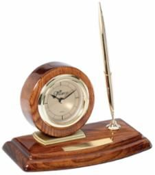 Walnut Clock and Pen Set - WC33