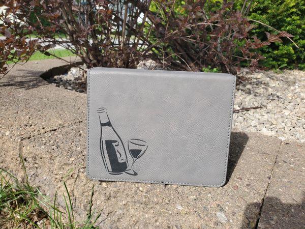 Laserable Leatherette 4-Piece Wine Tool Set - REALTOR - WTL