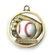 BASEBALL - GAME BALL MEDALLION
