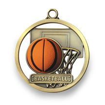 BASKETBALL - GAME BALL MEDALLION