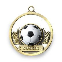 SOCCER - GAME BALL MEDALLION