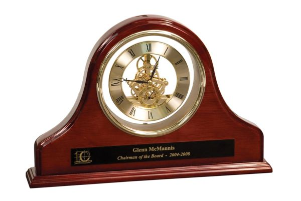 ROSEWOOD CURVE CLOCK - GP03