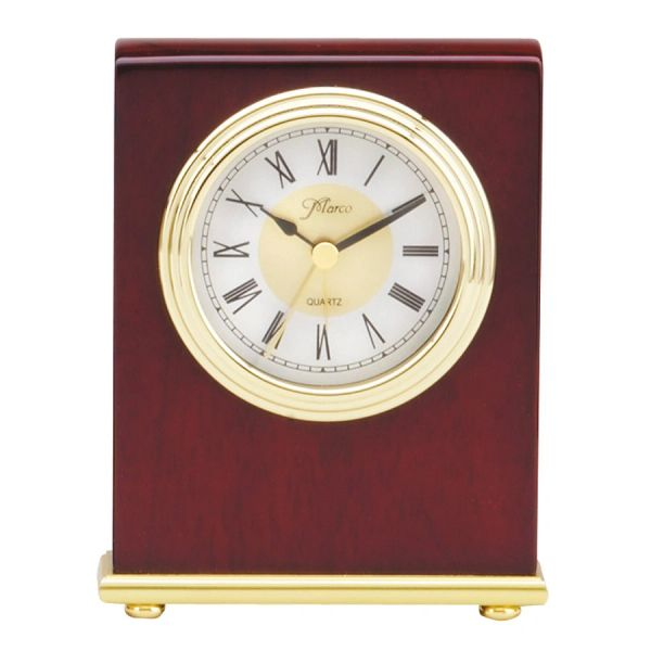 ROSEWOOD STANDING CLOCK RECTANGLE - Q005