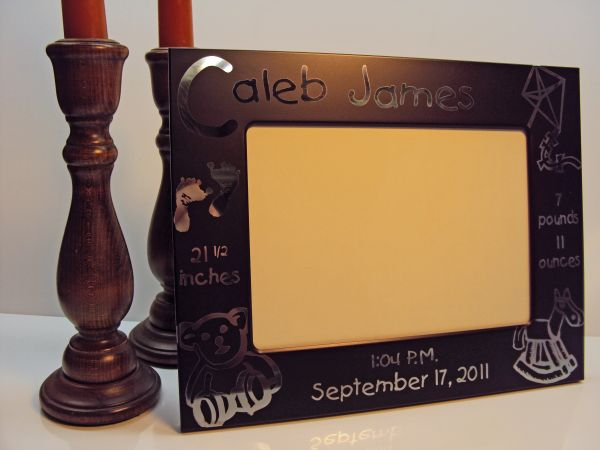 BABY SERIES METAL PICTURE FRAMES
