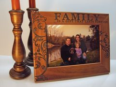 FAMILY SERIES WOODEN PICTURE FRAMES