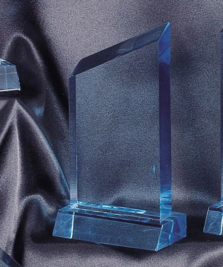 CP24S-BL - WEDGE LUCITE ACRYLIC AWARDS