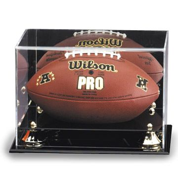 FOOTBALL CASE - DISPLAY CASE