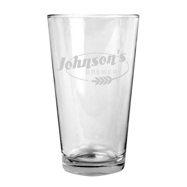 GLASS - PINT 16 oz. GLASS (STORE PICK-UP ONLY)