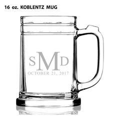 GLASS - MUG 16 oz. GLASS (STORE PICK-UP ONLY)
