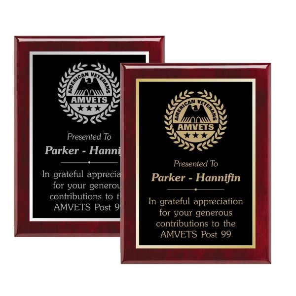 LASER DOUBLE PLATE PREMIUM PLAQUE
