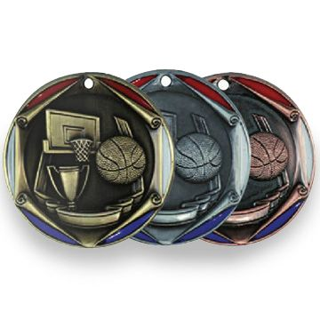 BASKETBALL - RWB MEDALLION