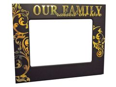 FAMILY SERIES METAL PICTURE FRAMES