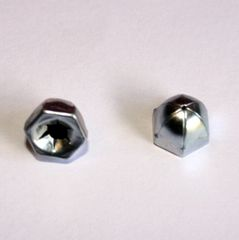 38-6543 Chrome Acorn Post Cap FA-666 Nickel Speed Nut
