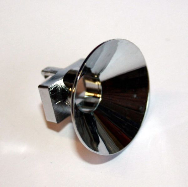 545-5409-01 Plastic Chrome Coloured Clip On Reflector