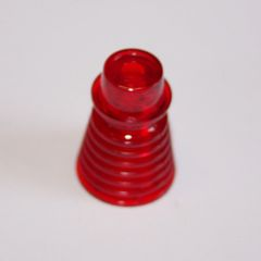 "C-951-7 Concentric Fin Post 1"" Red"