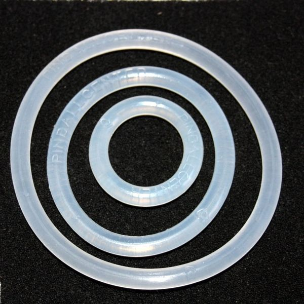 Translucent Rubber Rings