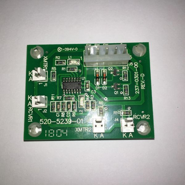 520-5239-01 Stern Opto Transmitter/Receiver Amplifier PCB