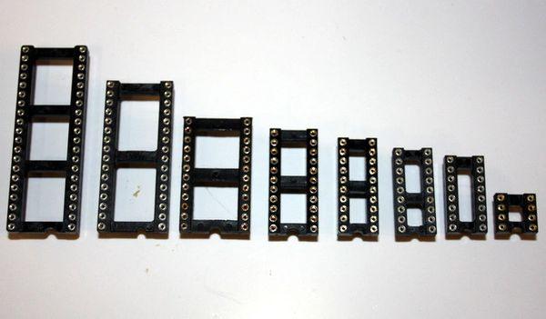 IC Sockets - Choose size