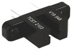 TCST2103 Through Hole Slotted Optical Switch, Phototransistor Output