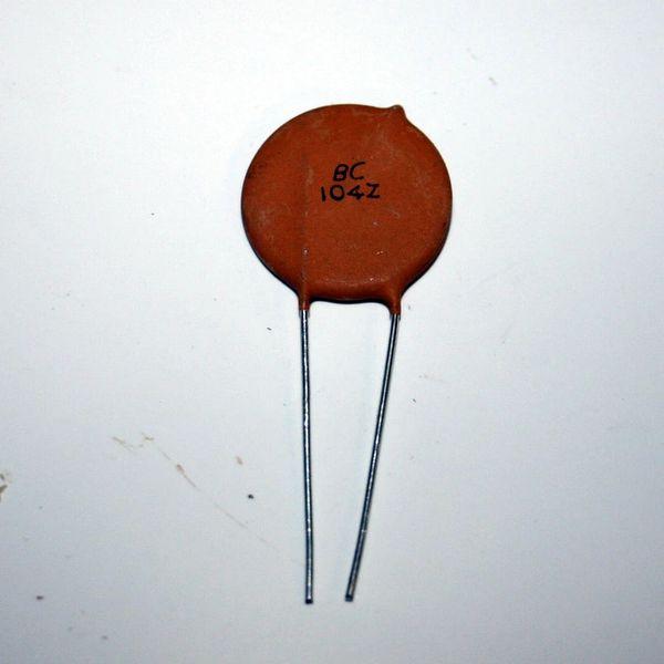 0.1uF 500V Ceramic Disc Capacitor