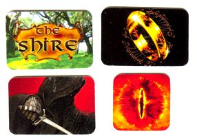 Lord Of The Rings Target Decal Set
